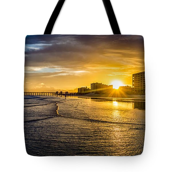 Cherry Grove Sunset Tote Bag
