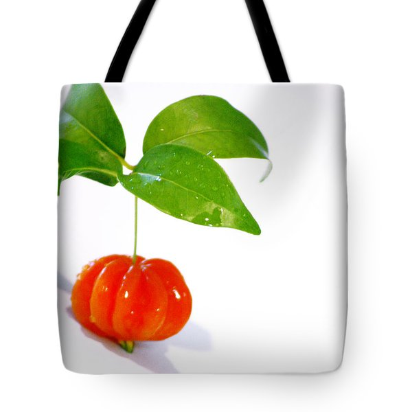 Cherry Tote Bag by Holly Kempe
