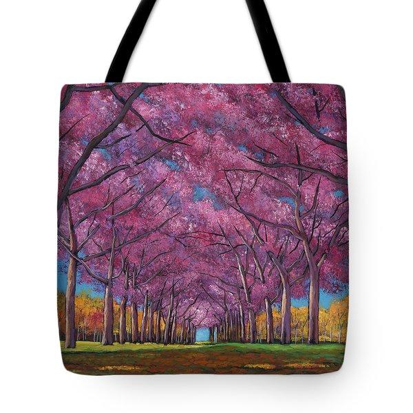 Cherry Lane Tote Bag