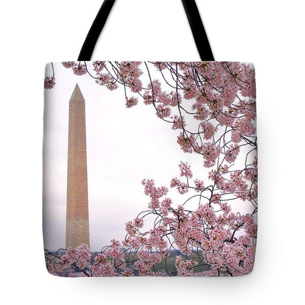 Cherry Washington Tote Bag