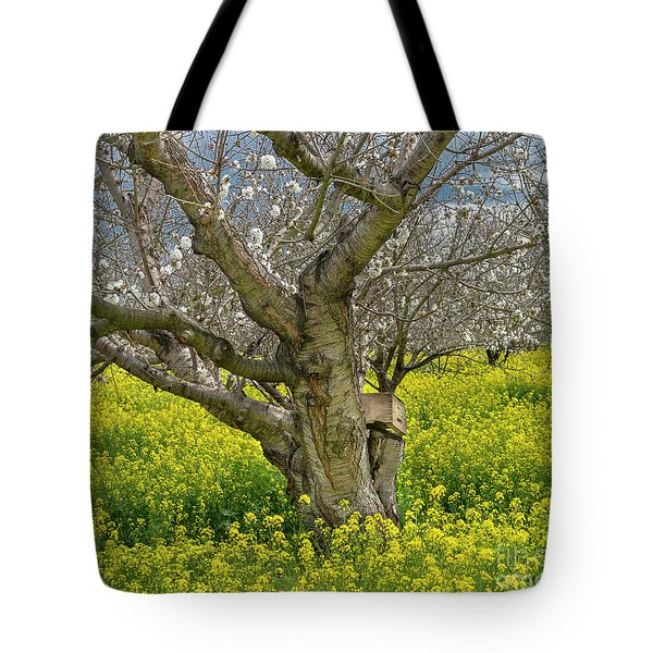 Cherry Orchard 8 Tote Bag