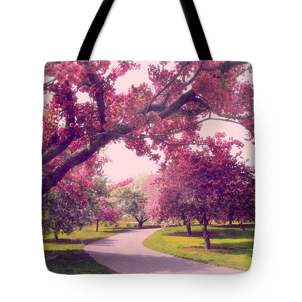 Cherry Orchard Charm Tote Bag