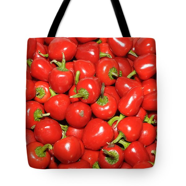 Cherry Peppers Tote Bag