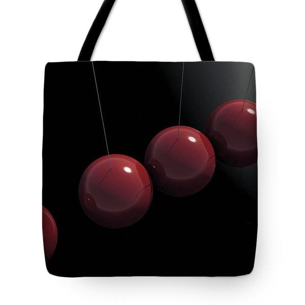 Cherry Red Knockers Tote Bag by Richard Rizzo