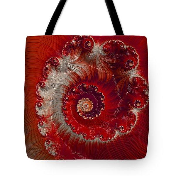 Cherry Swirl Tote Bag