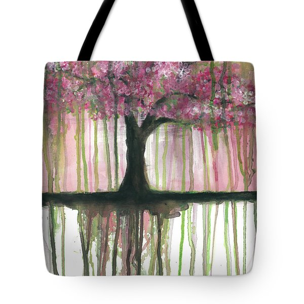 Fruit Tree #3 Tote Bag by Rebecca Childs