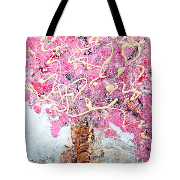 Cherry Tree By Colleen Ranney Tote Bag