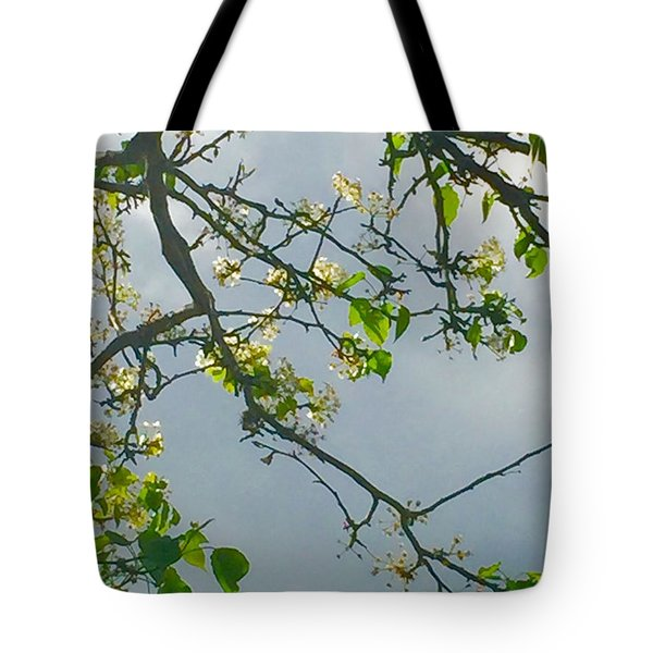 Cherry Tree Hack Tote Bag
