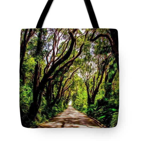 Cherry Tree Hill Tote Bag