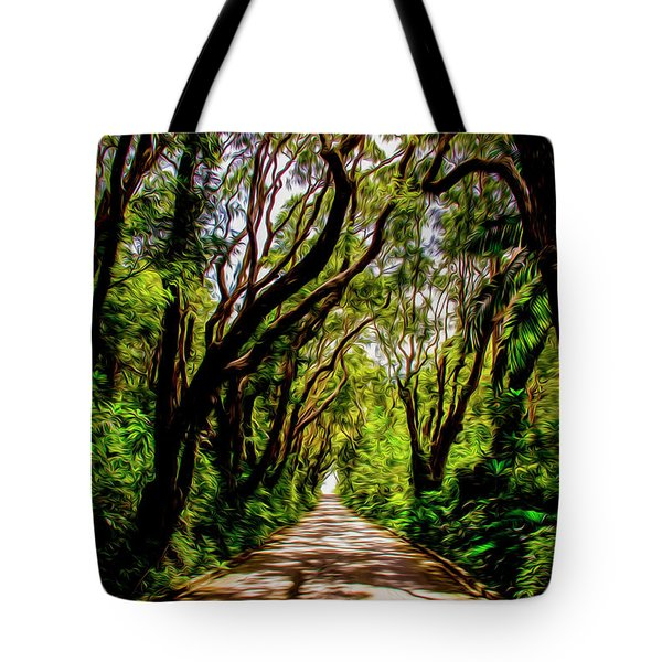 Cherry Tree Hill Tote Bag