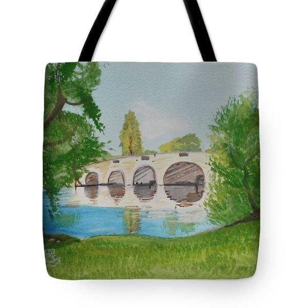 Chertsey Bridge Tote Bag