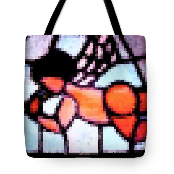 Tote Bag featuring the photograph Cherub Art  by Juls Adams