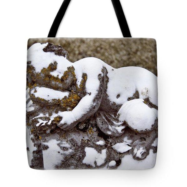 Cherub Stone Tote Bag