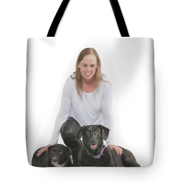 Cheryl 001 Tote Bag by M K  Miller