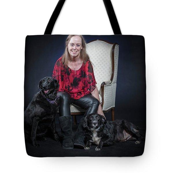 Cheryl 002 Tote Bag by M K  Miller