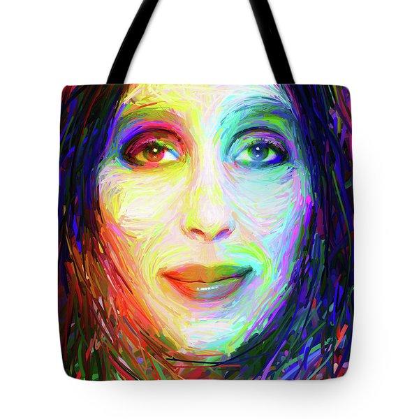 Cheryl Sarkisian Tote Bag