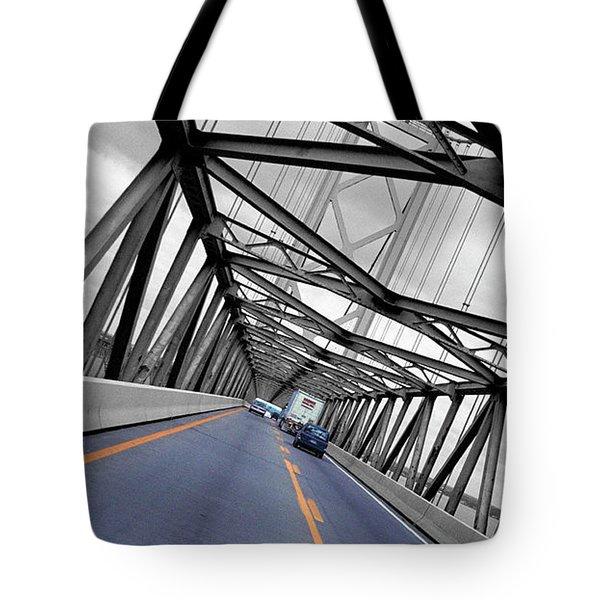 Chesapeake Bay Bridge Tote Bag