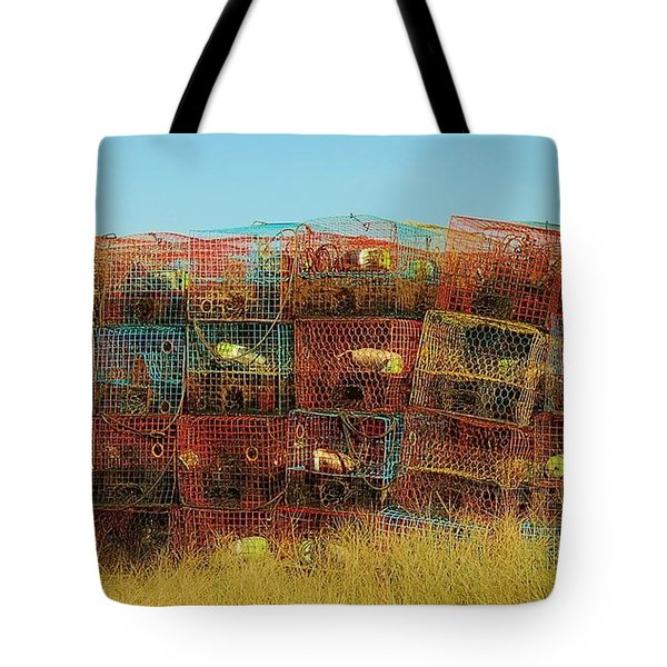 Chesapeake Bay Crabbing Tote Bag