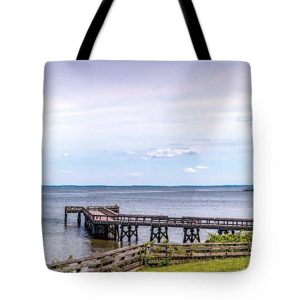 Chesapeake Bay Maryland Panorama Tote Bag