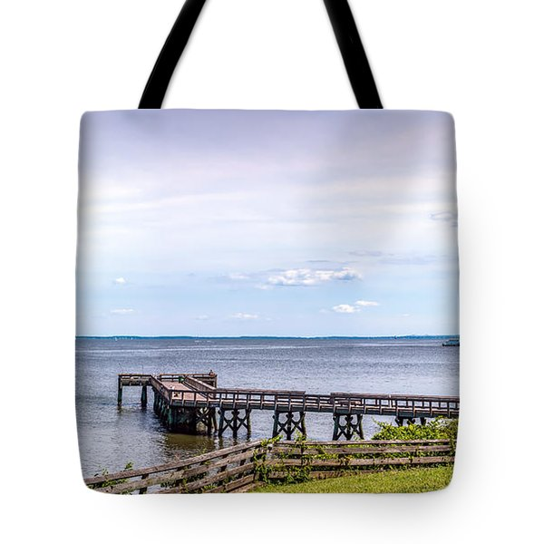 Chesapeake Bay Maryland Panorama Tote Bag