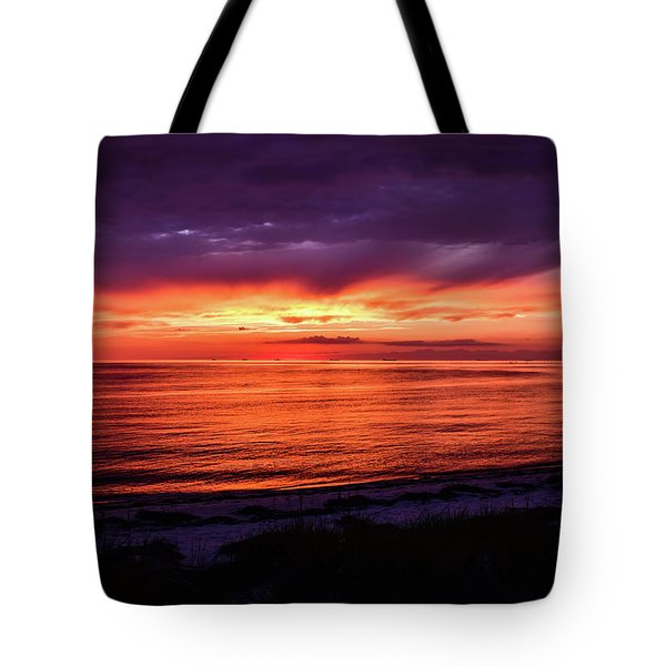 Chesapeake Bay Sunset Tote Bag