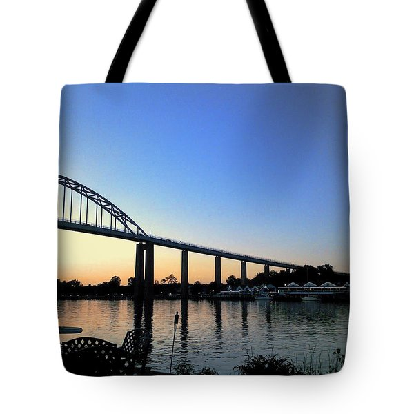 Chesapeake City Tote Bag