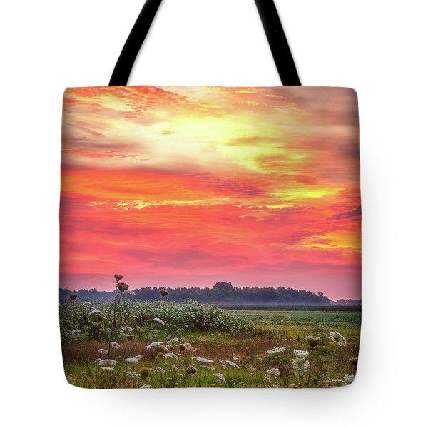Chesapeake Sunrise I Tote Bag