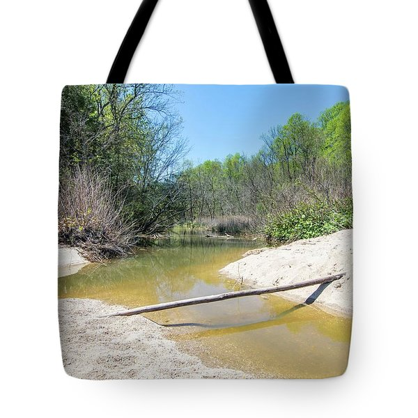 Tote Bag featuring the photograph Chesapeake Tributary by Charles Kraus