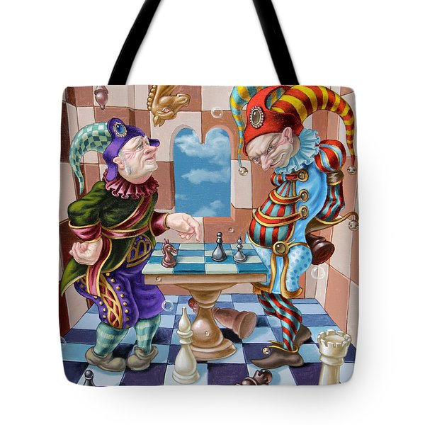 Chess Players Tote Bag