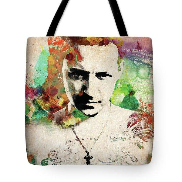 Chester Bennington Tote Bag