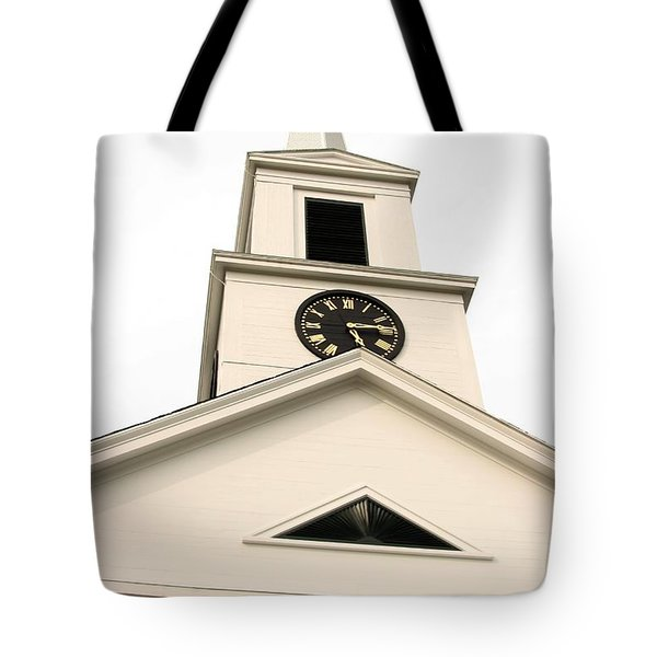 Chester Church Tote Bag by Robert Morin