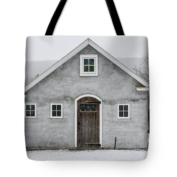 Chester County In The Snow Tote Bag