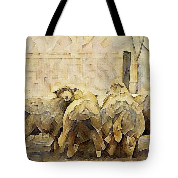Chester County Sheep Tote Bag