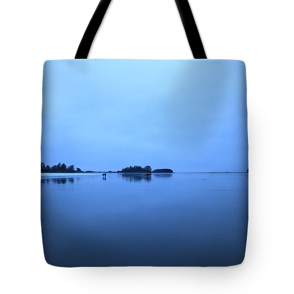Chesterman Spatial Blues Tote Bag