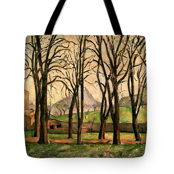 Chestnut Trees At The Jas De Bouffan Tote Bag