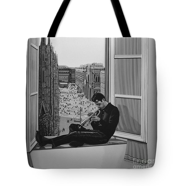 Chet Baker Tote Bag by Paul Meijering