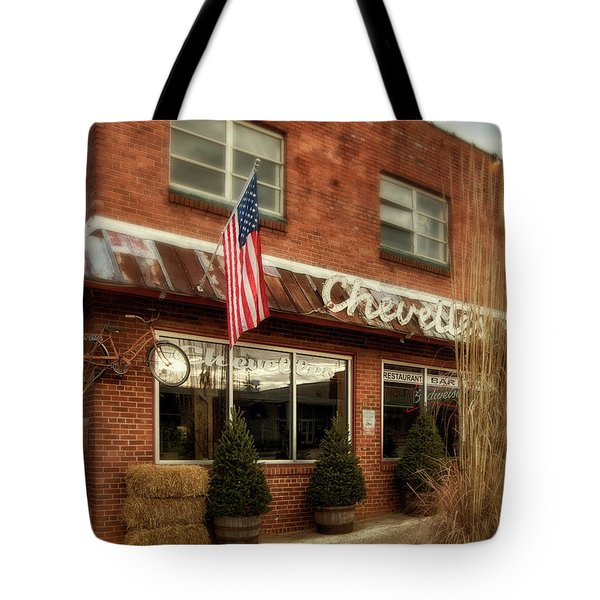 Tote Bag featuring the photograph Chevells by Greg Mimbs