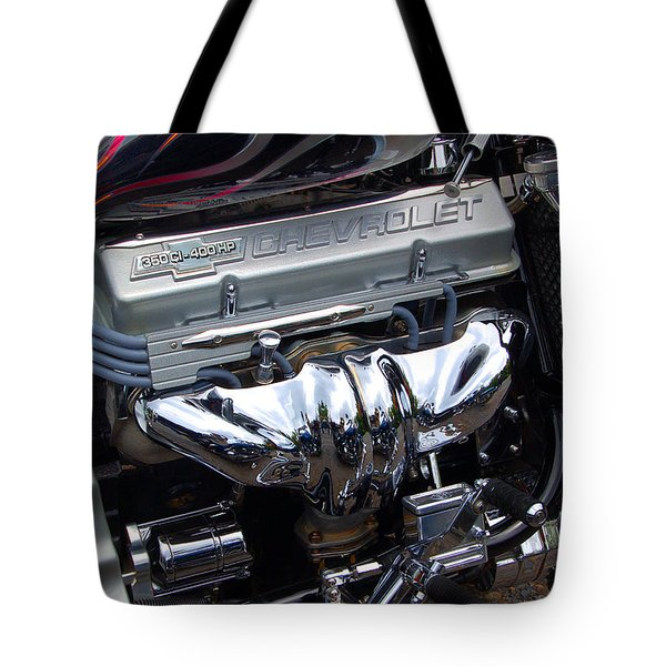 Chevrolet 400 Hp  Tote Bag by Diane E Berry