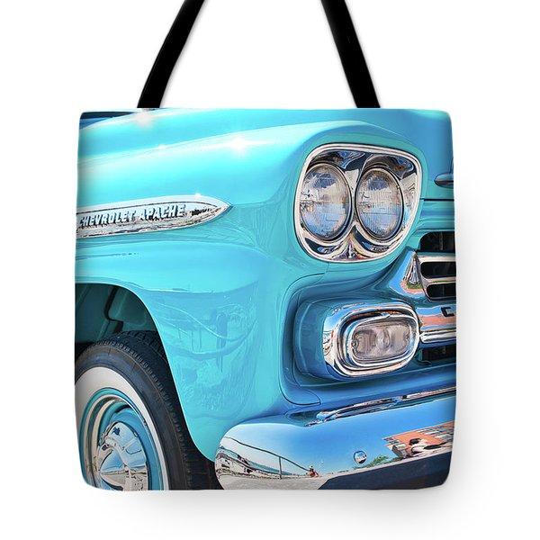 Chevrolet Apache Truck Tote Bag