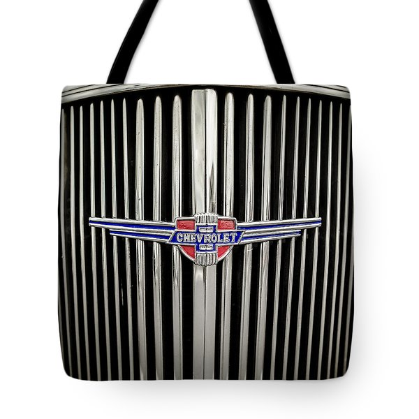 Chevrolet Tote Bag by Caitlyn Grasso