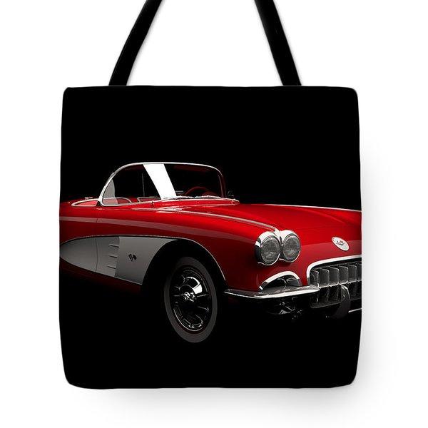 Chevrolet Corvette C1 Tote Bag