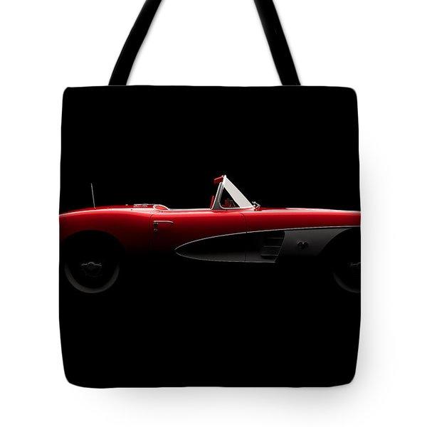 Chevrolet Corvette C1 - Side View Tote Bag