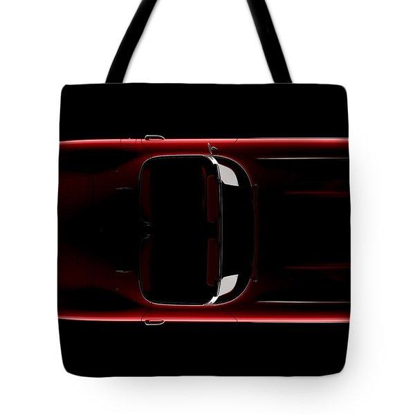 Chevrolet Corvette C1 - Top View Tote Bag