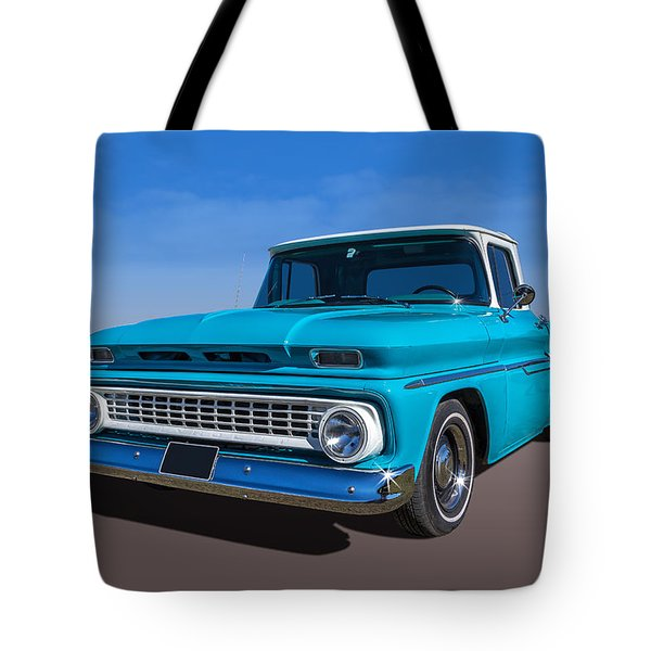 Tote Bag featuring the photograph Chevrolet Pickup by Keith Hawley