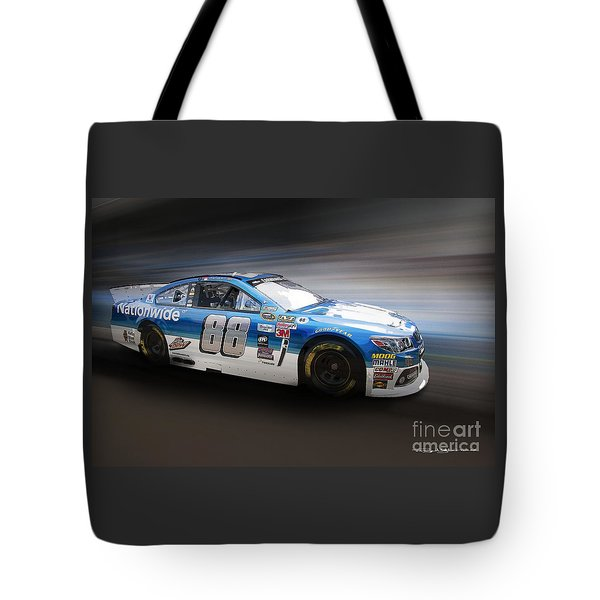 Chevrolet Ss Nascar Tote Bag by Roger Lighterness