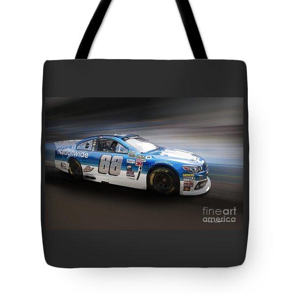 Chevrolet Ss Nascar Tote Bag