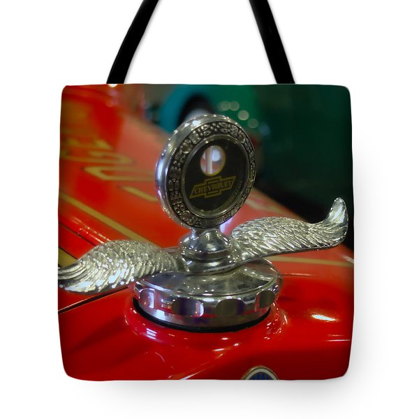 Chevrolet Wings Tote Bag