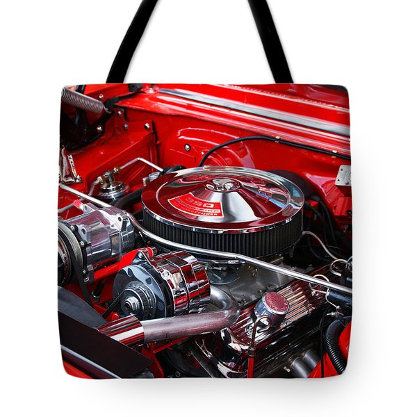 Chevy 350 Tote Bag