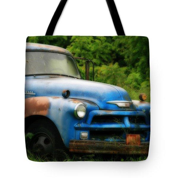 Chevy 6500 Farm Truck Tote Bag