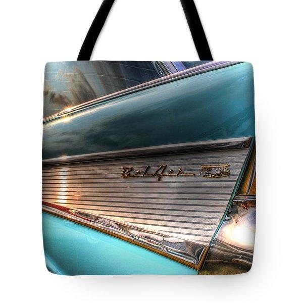 Chevy Bel Air Tote Bag